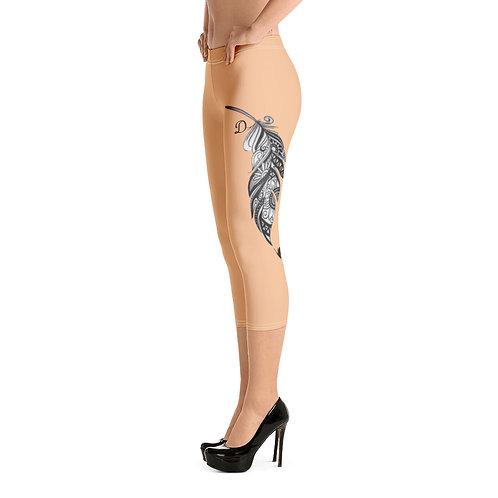 Dave Nude Tattoo Leggings