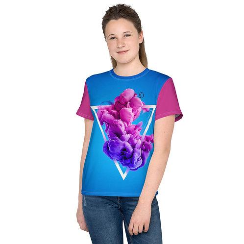 Dave Purple Smoke Kids T-Shirt