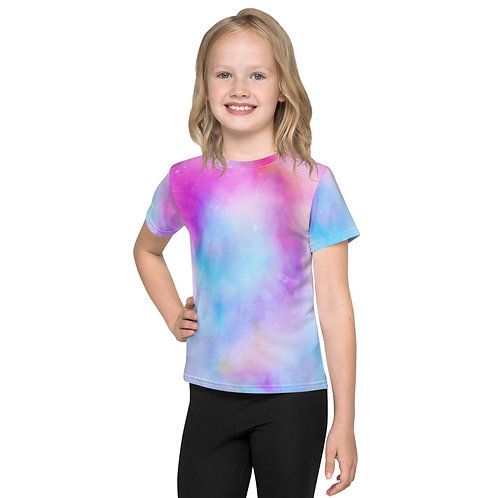 Kids Tie-Dye Crew Neck T-Shirt