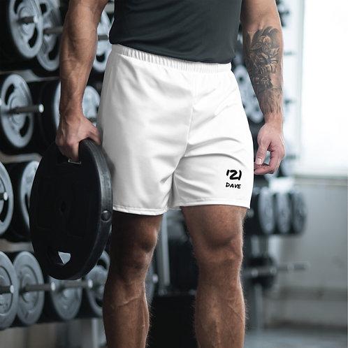 Dave '21 White Mens Shorts