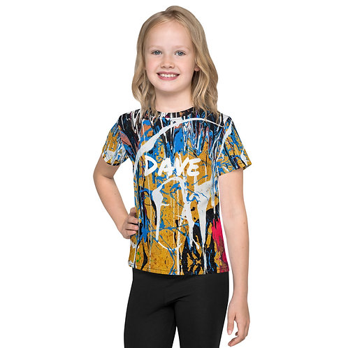 Daves All Over Paint Kids T-Shirt