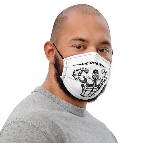 Daves Gym Premium Face Mask
