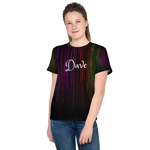 Dave Coloured Matrix Kids T-Shirt