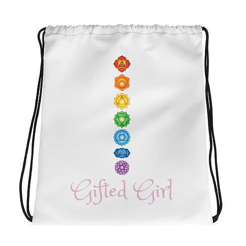 Dave x Gifted Girl 7 Chakra Drawstring Bag