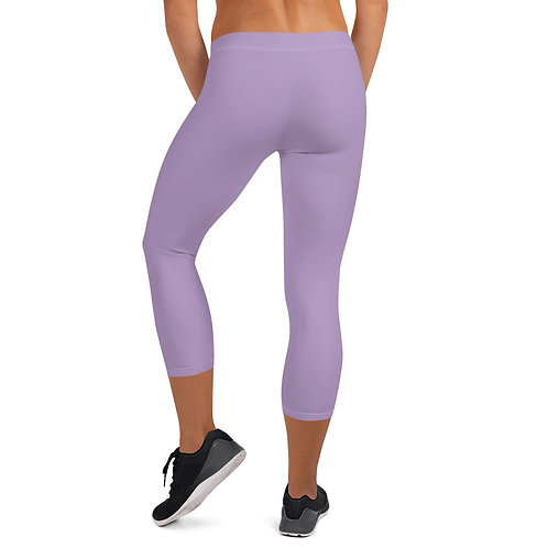 Daves Gym Pastel Purple Leggings