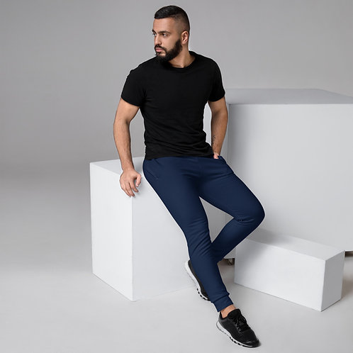 Dave Navy Blue Mens Joggers