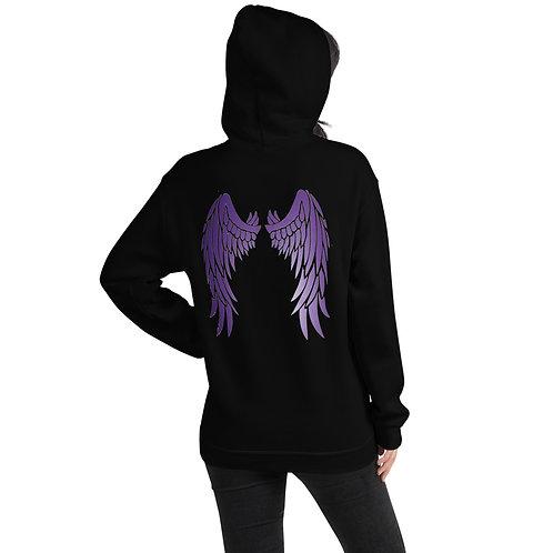 Dave x Gifted Girl Purple Wings Hoodie