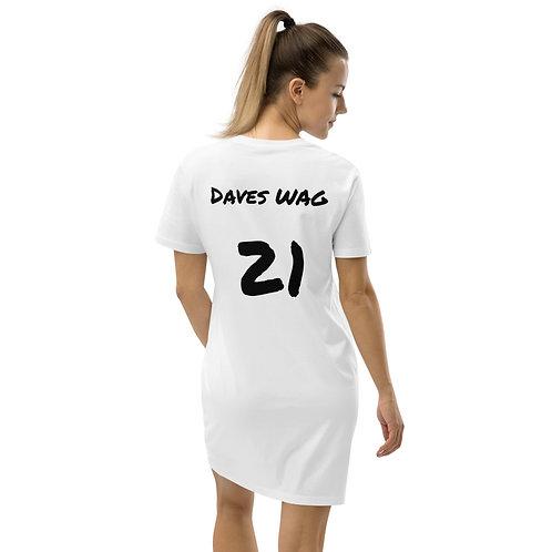 'Daves WAG' Womens T-Shirt Dress