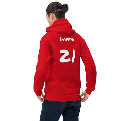 'Daves 6 nations hoodie' - Wales