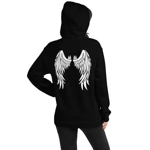 Dave x Gifted Girl White Wings Hoodie