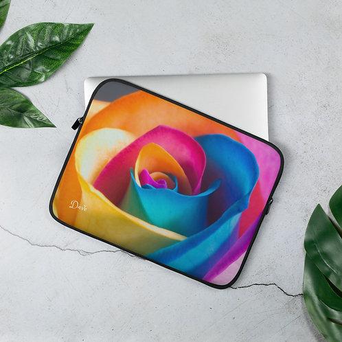 Dave Multi Rose Laptop Sleeve