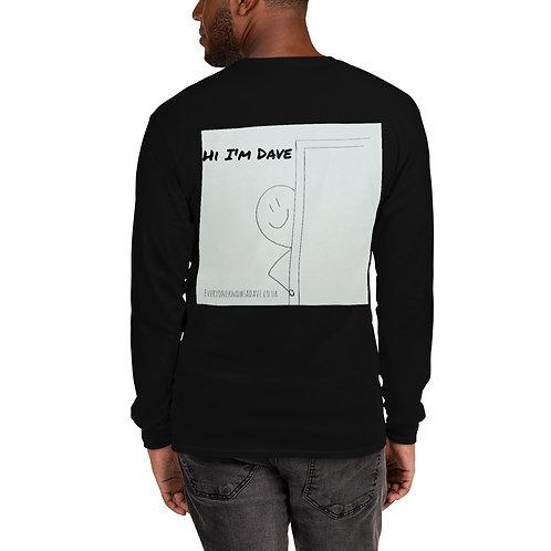'Hi I'm Dave' L/S T-shirt