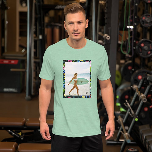 Dave Beach Walk Mens T-Shirt