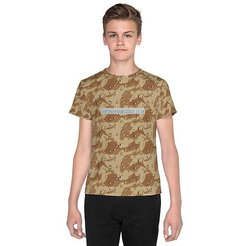Dave Desert Camo Kids T-Shirt