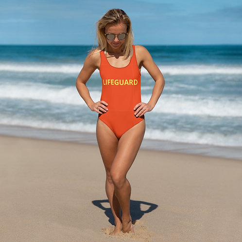Dave-watch Life Guard Swimsuit