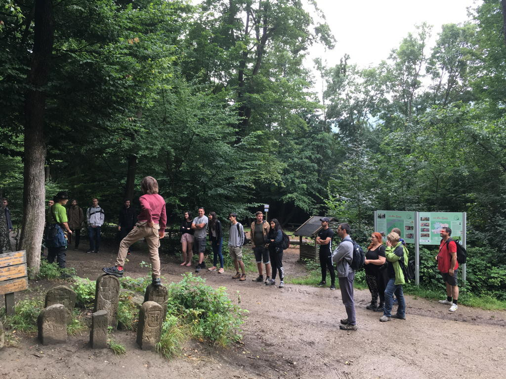 Start im Naturpark Purkersdorf