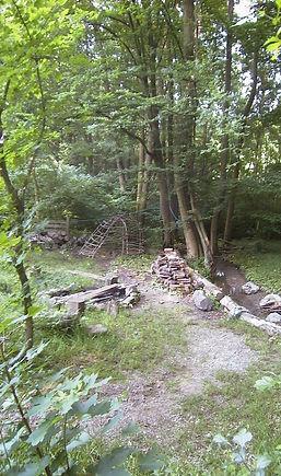 Feuerstelle Garten Waldführung