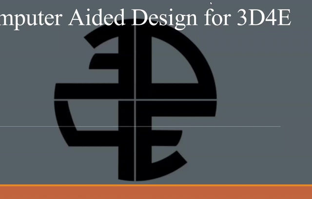 3D4E CAD Training