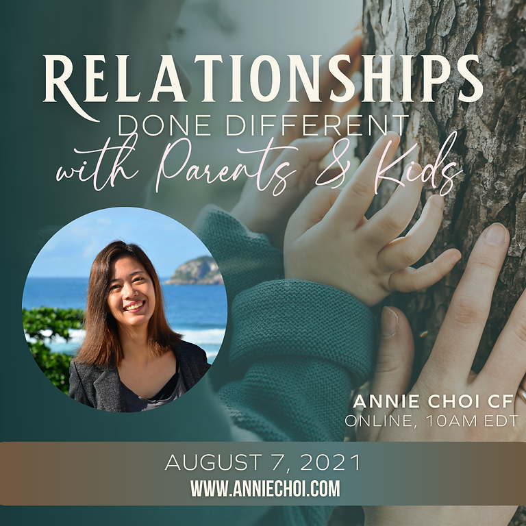 Relationships Done Different with Parents and Kids Intro