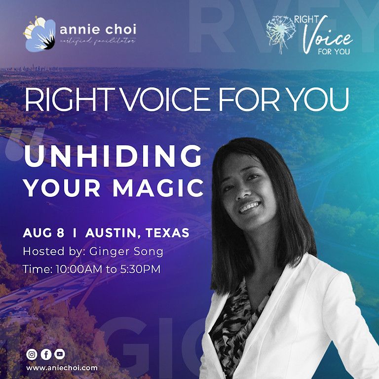 Right Voice For You - Austin, TX