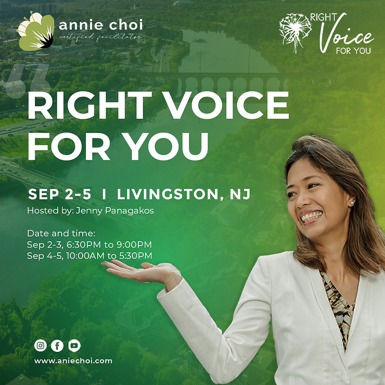 Right Voice For You - Livingston, NJ