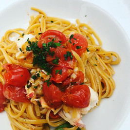 Linguine with Lobster and Fresh Tomato
