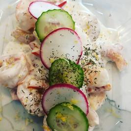 Keto Creamy Shrimp Salad