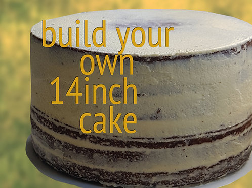 """Build Your Own 14"""" Cake"""