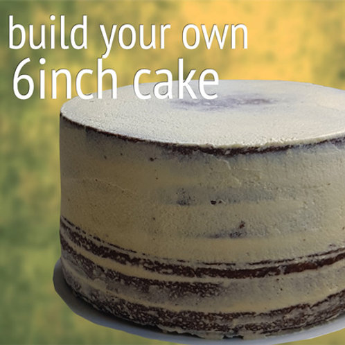"""Build Your Own 6"""" Cake"""