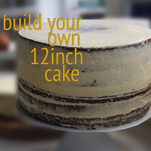 "Build Your Own 12"" Cake"