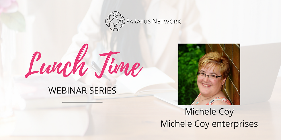 """Lunchtime Webinar Series - """"How to Live More Intentional"""""""