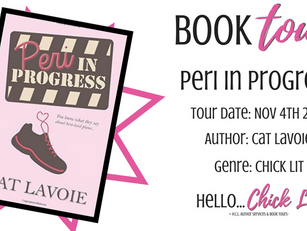 Book Tour: Peri in Progress