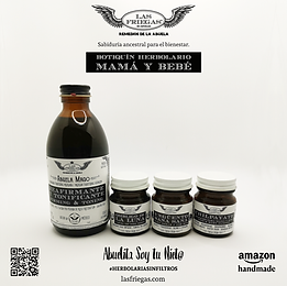 Las Friegas, Remedios de la Abuela, Botiquin Herbolario, Mamá y Bebé.png