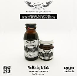 Las Friegas, Remedios de la Abuela, Pares de Bienestar, Extremidades, Abuela Marianto, Ung
