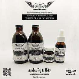 Las Friegas, Remedios de la Abuela, Botiquin Herbolario, Piernas y Pies.png