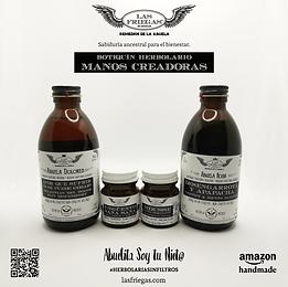 Las Friegas, Remedios de la Abuela, Botiquin Herbolario, Manos Creadoras.png