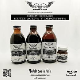 Las Friegas, Remedios de la Abuela, Botiquin Herbolario, Gente Activa y Deportista.png