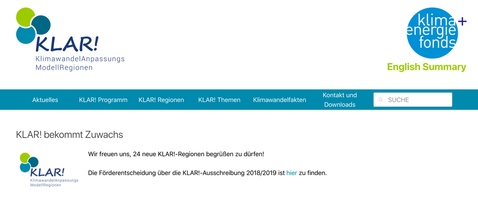 KLAR! Nationalparkgemeinden Oberes Mölltal