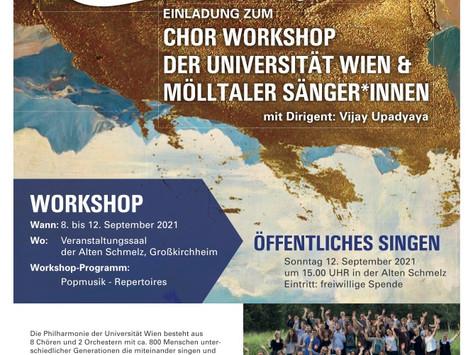 MÖLLTALKLANG - Chor-Workshop