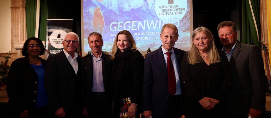 Preisverleihung vom 4. Mölltalter Geschichten Festival in Heiligenblut