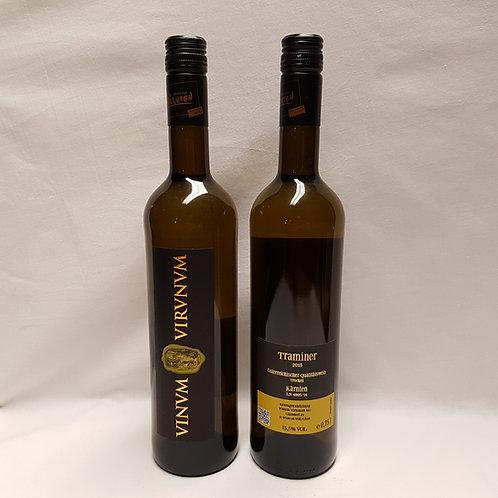 Traminer - Vinum Virunum - Kärnten - 0,75 Lt