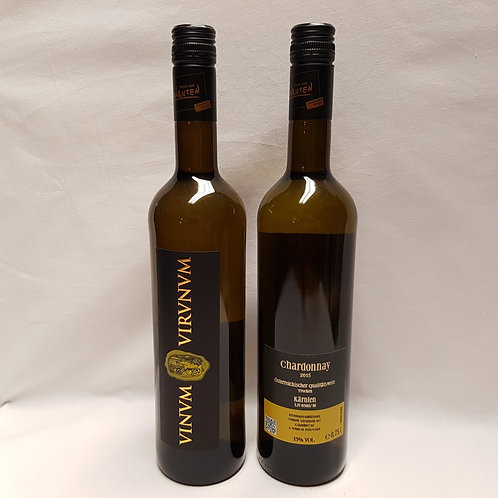 Chardonnay - Vinum Virunum - Kärnten - 0,75 Lt