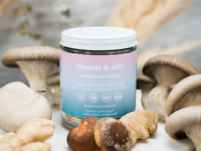 Balance your body with Bloom & Elix's Adaptogens for Her