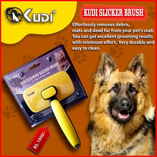 KUDI SLICKER BRUSH - LARGE  (027)