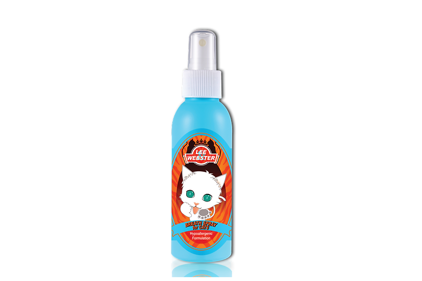 LEE & WEBSTER BREATH SPRAY FOR CATS  (040)
