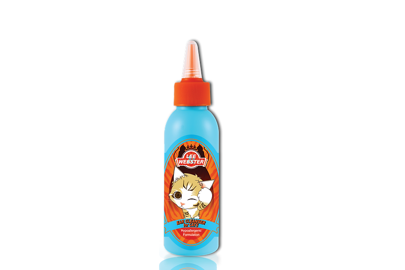 LEE & WEBSTER EAR CLEANER FOR CATS  (035)