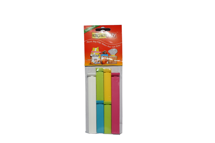 KITCHEN EASY PLASTIC BAG SEALING CLIPS