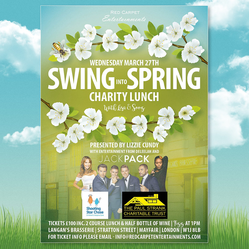 Swing into Spring Charity Lunch 2020