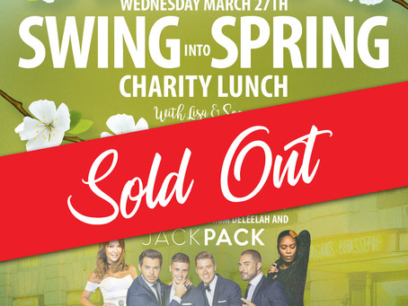 CHARITY LUNCH - SWING INTO SPRING