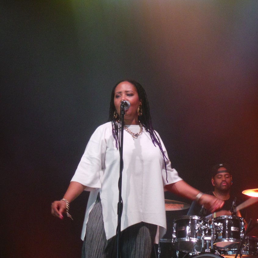 """Ask her to describe her voice and she might say it feels like, sounds like, soul. But when it comes to defining the essence of music, itself, Lalah Hathaway can go on and on... """"Music is so textured and layered,"""" she says,"""